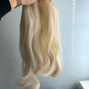 Platinum synthetic 18in halo extensions